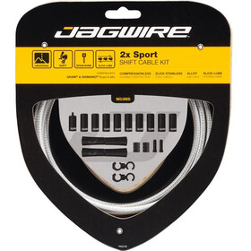 Jagwire 2X Sport Shift Shift Cable Set for Shimano/SRAM sterling silver